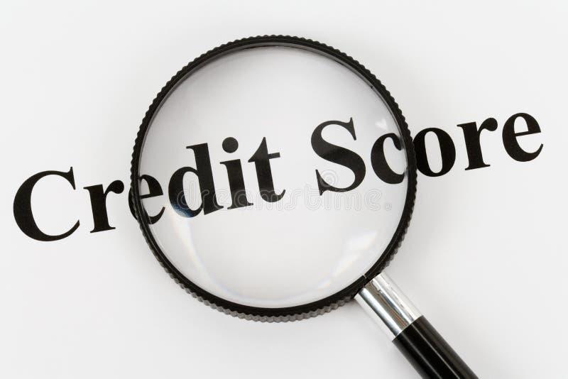 Contagem de crédito foto de stock