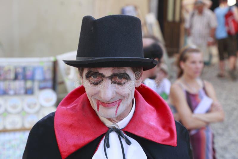 Contagem Dracula Foto Editorial