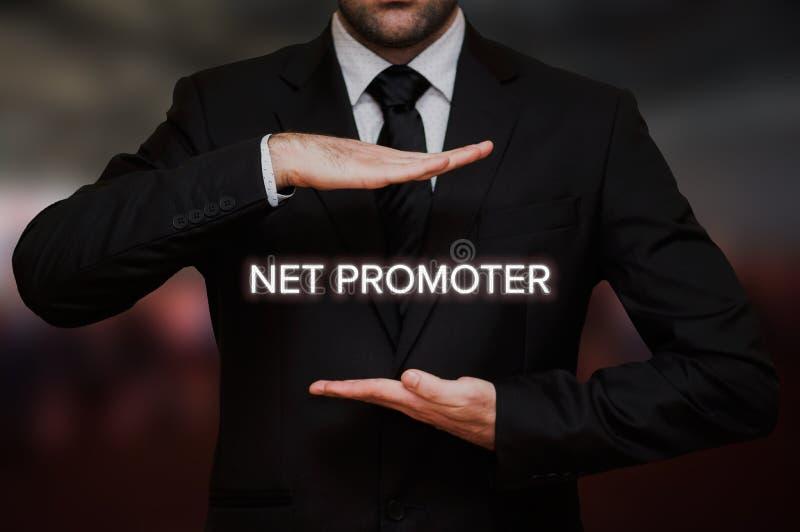 Contagem líquida NPS do promotor foto de stock royalty free