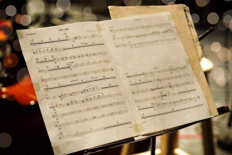 Contagem musical imagens de stock royalty free