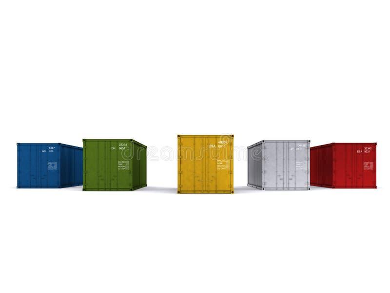Container stock illustratie