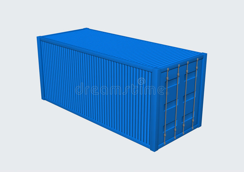 Download Container stock illustration. Illustration of industry - 17711671