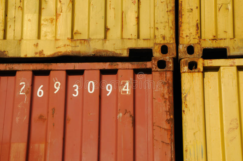 Download Container stock image. Image of import, commerce, iron - 21253545