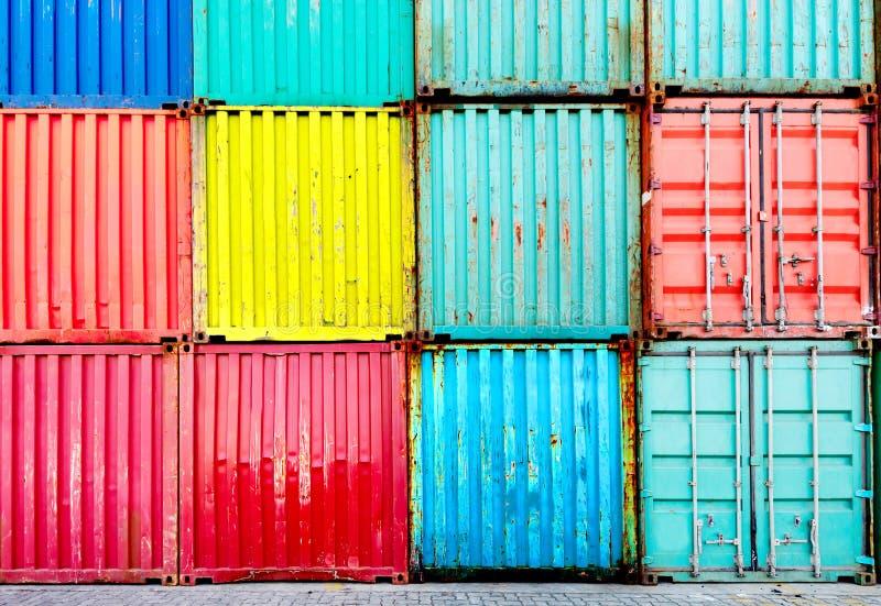 Container stock afbeelding