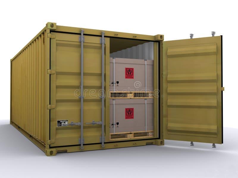 Container vector illustratie