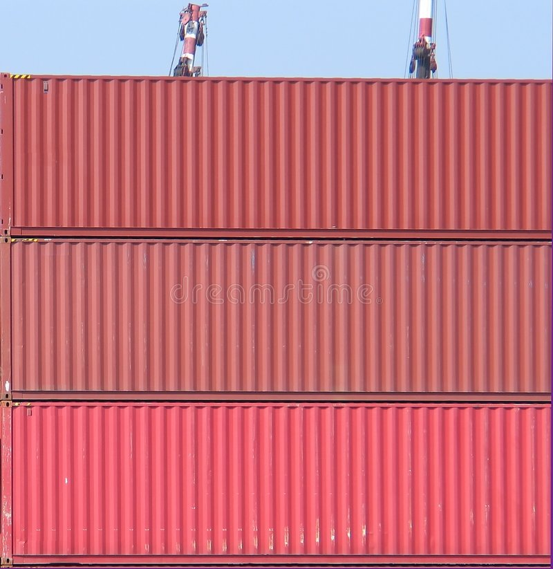 Container Achtergrond-9253 Stock Foto's