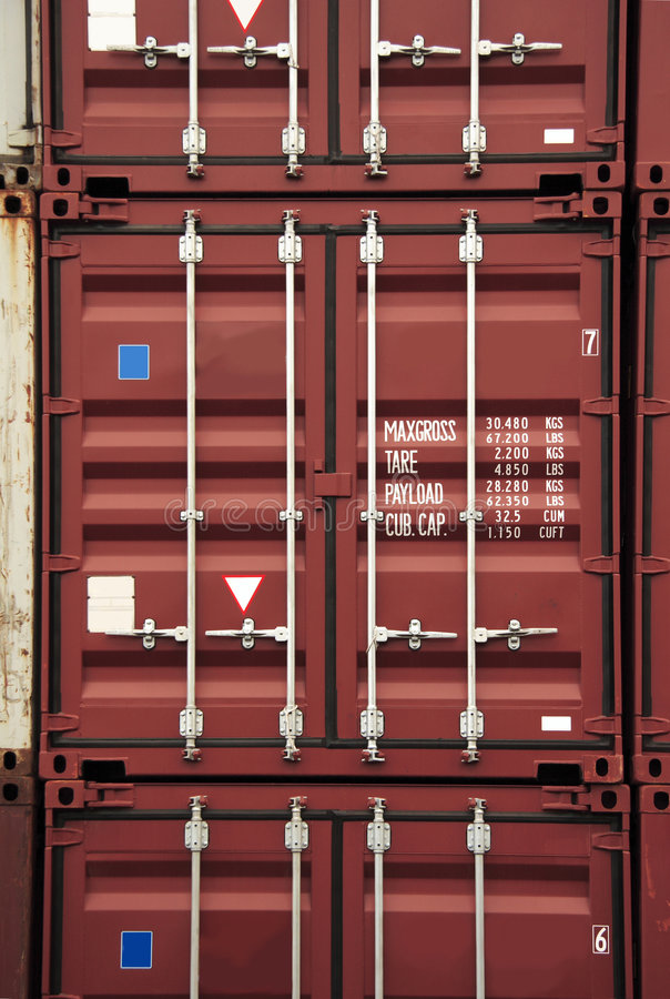Container Color Royalty Free Stock Image