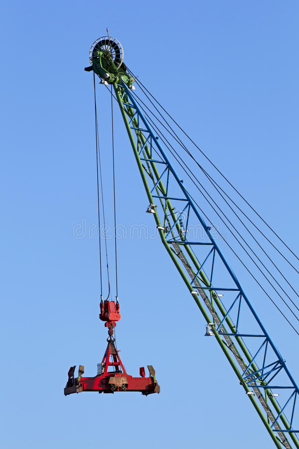 Download Container crane stock image. Image of sparse, load, vehicle - 29709175