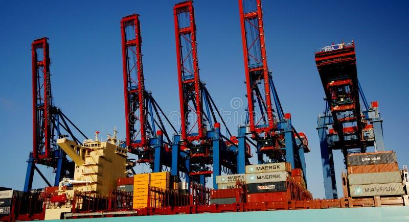 Container Cranes Editorial Photo