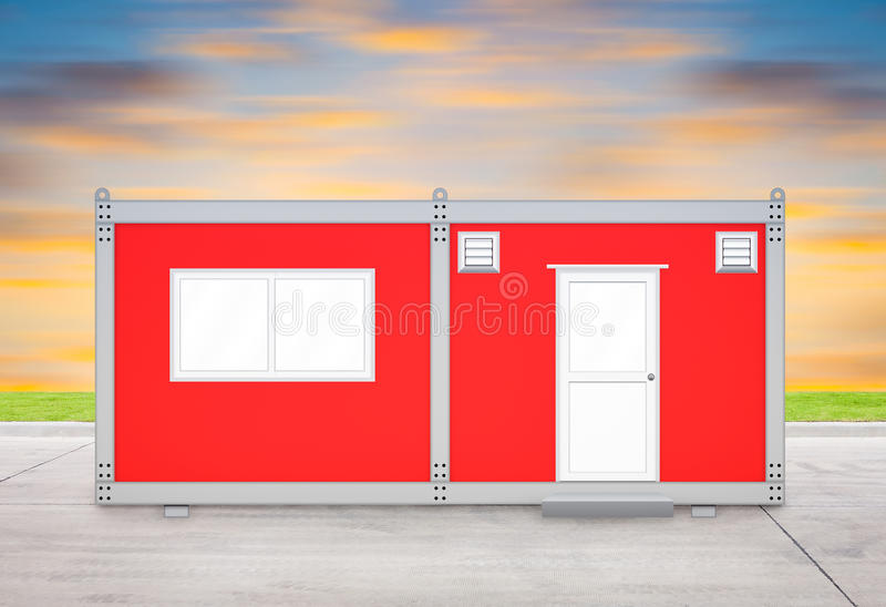 Container house stock photos