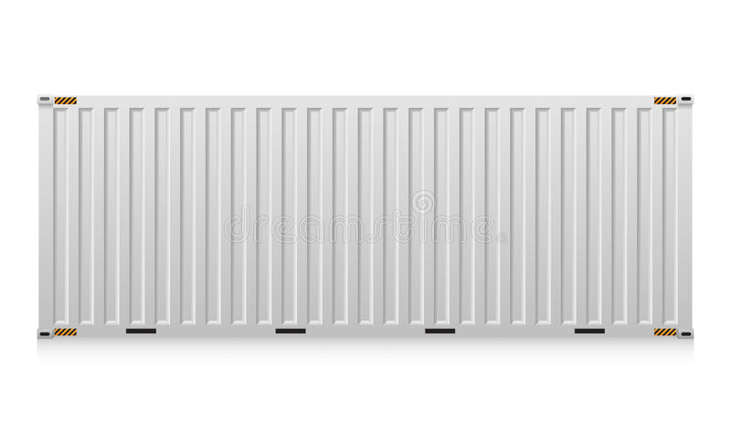 Container vector illustration