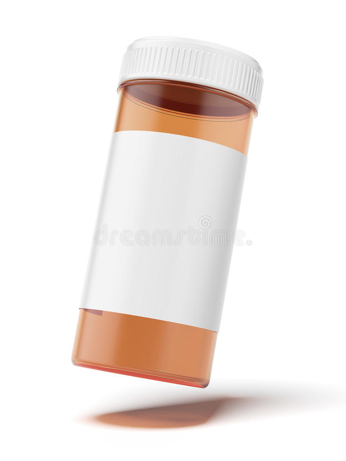 Download Container For Medicine Stock Image - Image: 33753351