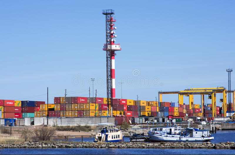 Download Container Operation In Port. Editorial Photo - Image: 24628286