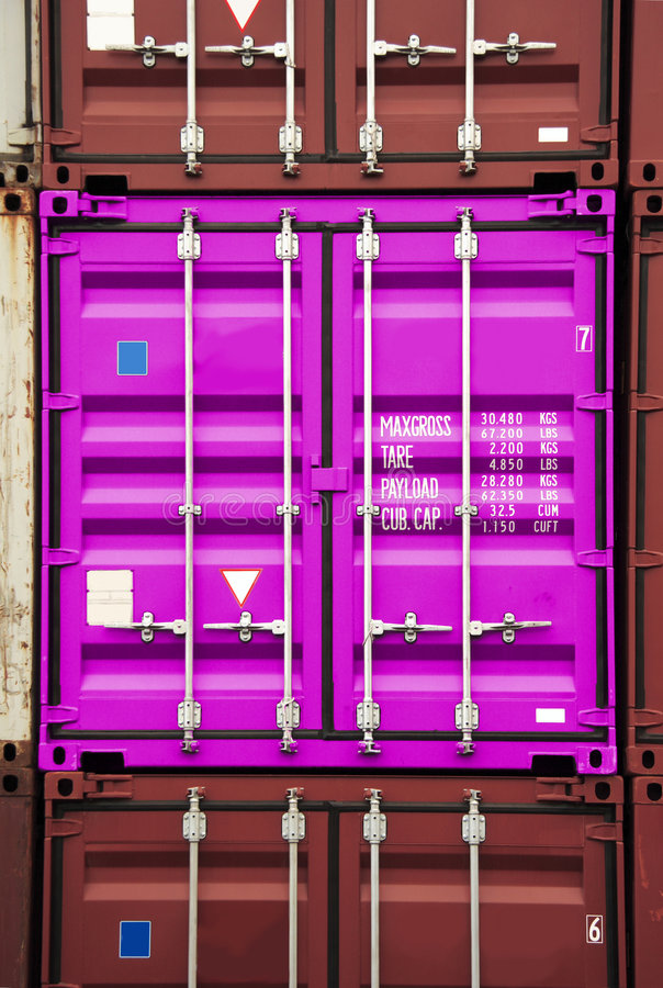 Download Container Pink Color Royalty Free Stock Photos - Image: 693448