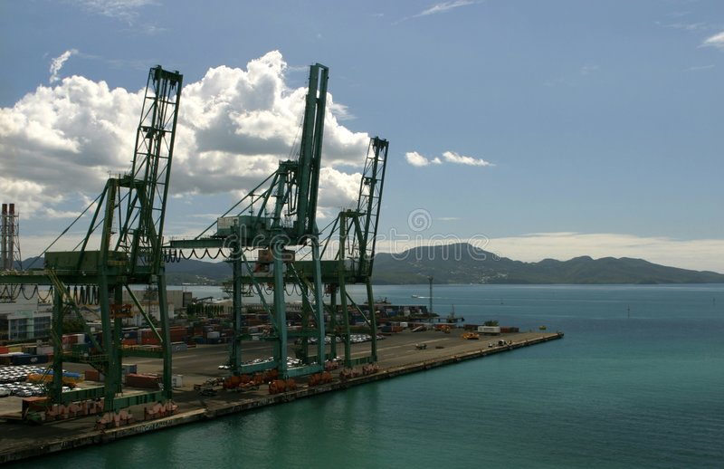Download Container port stock photo. Image of haven, integrated - 115618