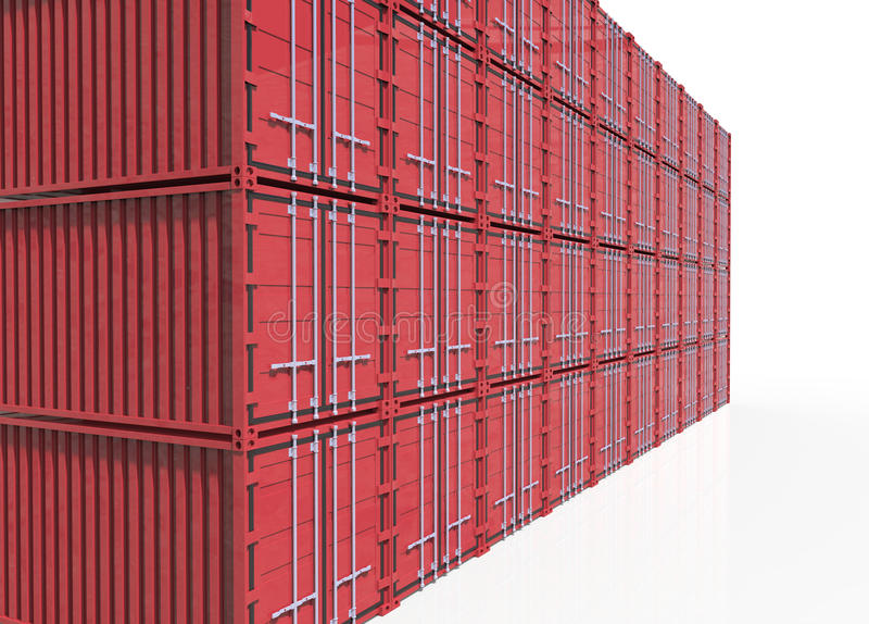 Download Container stock illustration. Image of export, cargo - 30408591