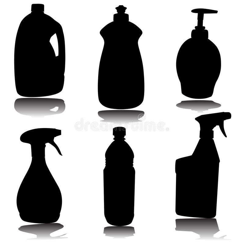 Download Container Set stock vector. Image of illustration, soap - 14839596