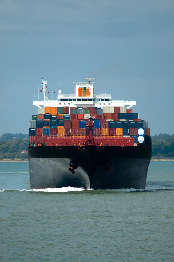 Download Container ship stock image. Image of import, boats, shipment - 10916319
