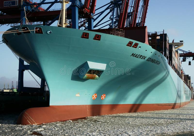 Download Container Ship editorial stock image. Image of harbor - 17659869