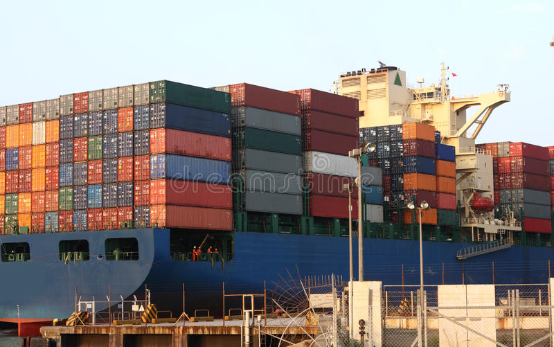 Download Container Ship Stock Photo - Image: 19325690