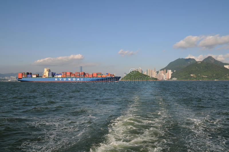 Download Container Ship editorial stock photo. Image of ship, china - 20263953