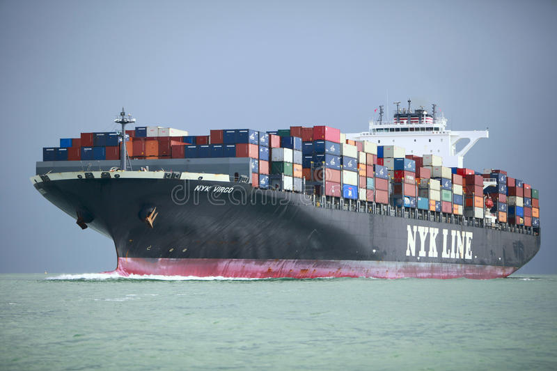 Download Container Ship editorial stock image. Image of crate - 21510014