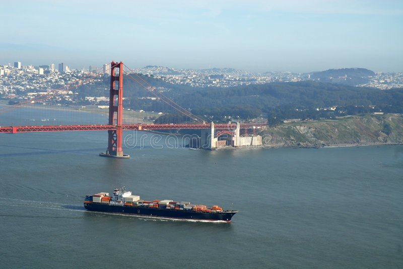 Download Container Ship Stock Photography - Image: 2223122