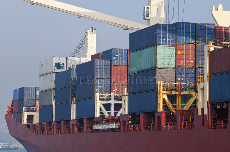 Download Container Ship stock image. Image of derrick, roro, carriage - 22409731