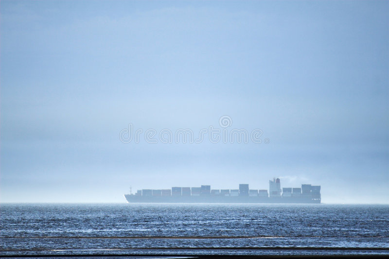 Download Container ship stock image. Image of white, precipitation - 2247707