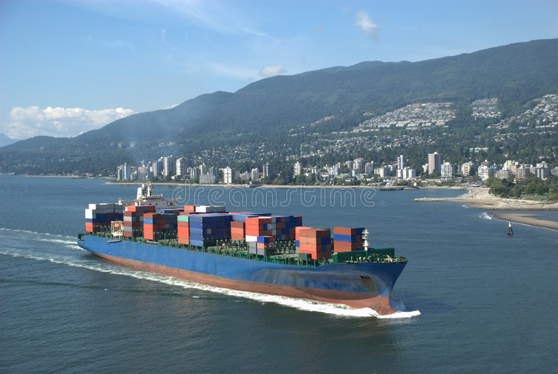 Download Container Ship stock photo. Image of business, logistic - 6290542
