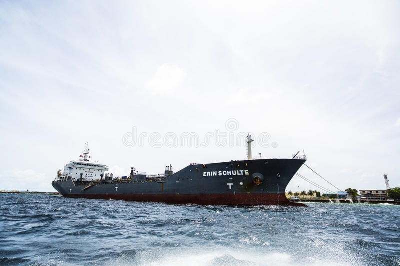 Download Container Ship Docked In Male, Maldives Stock Image - Image of docked, republic: 75986201