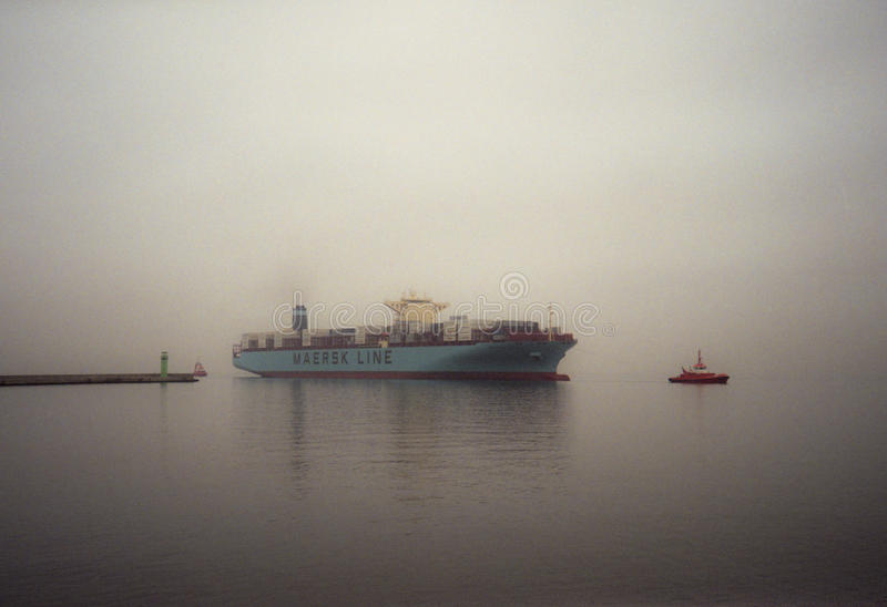 Download Container Ship Edith Maersk In Gdansk Poland Editorial Stock Photo - Image: 28137258