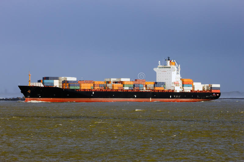 Download Container ship stock image. Image of loading, ship, goods - 31576403