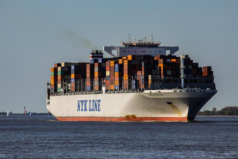 Container Ship, Ship, Water Transportation, Transport royalty free stock images