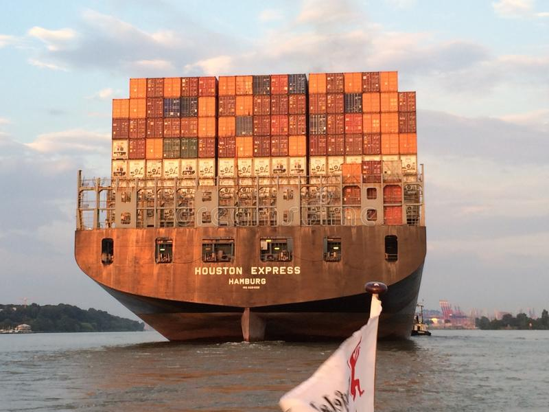 Container Ship, Water Transportation, Ship, Watercraft royalty free stock images