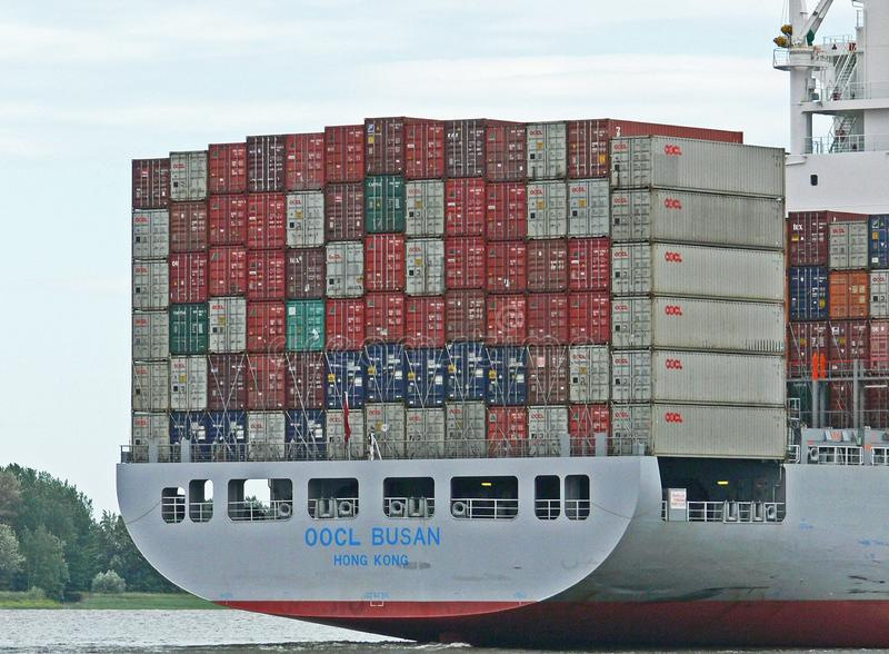 Container Ship, Water Transportation, Shipping Container, Ship stock image