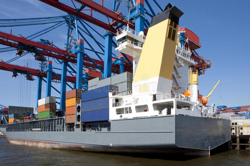 Download Container shipping stock image. Image of import, logistically - 21543441