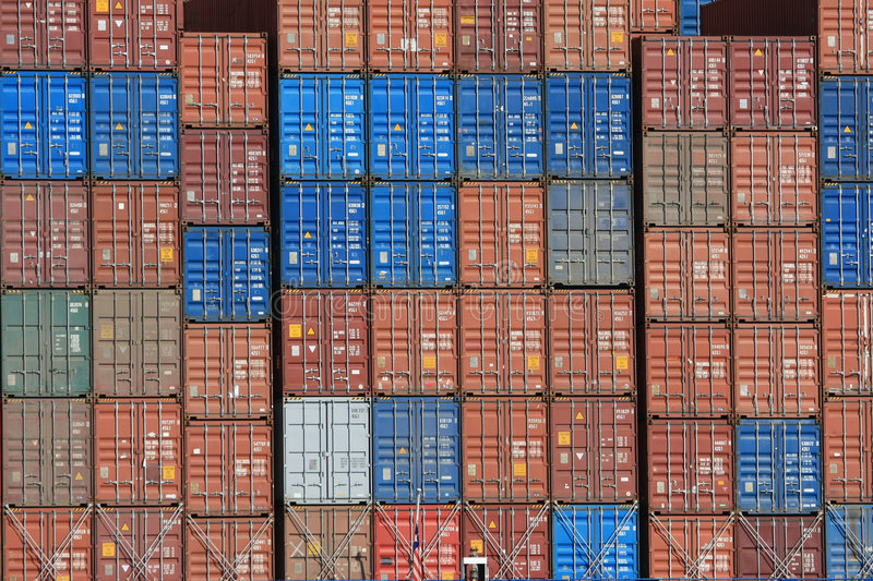 Container Shipping XII Royalty Free Stock Photography