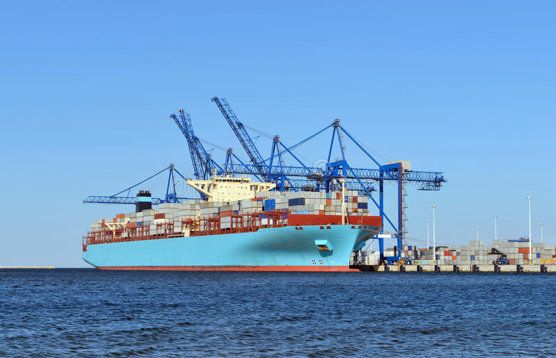 Download Container Terminal Stock Photography - Image: 26285272