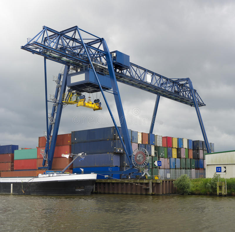 Download Container Terminal Stock Photography - Image: 26496012