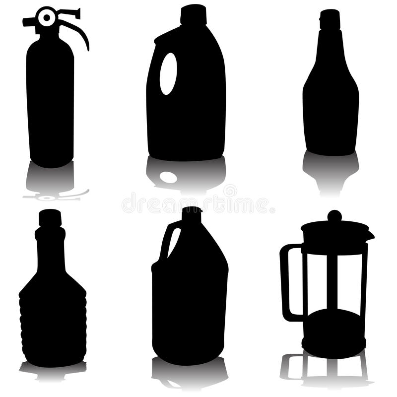 Download Container Variety Set Royalty Free Stock Photography - Image: 14870047
