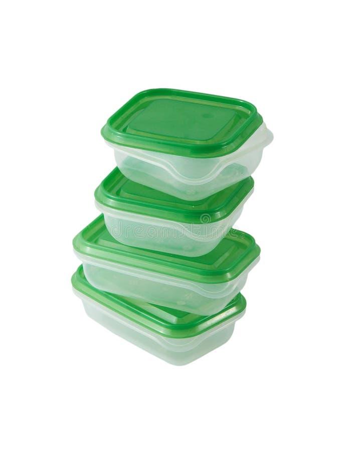 Container voor Voedsel stock foto's