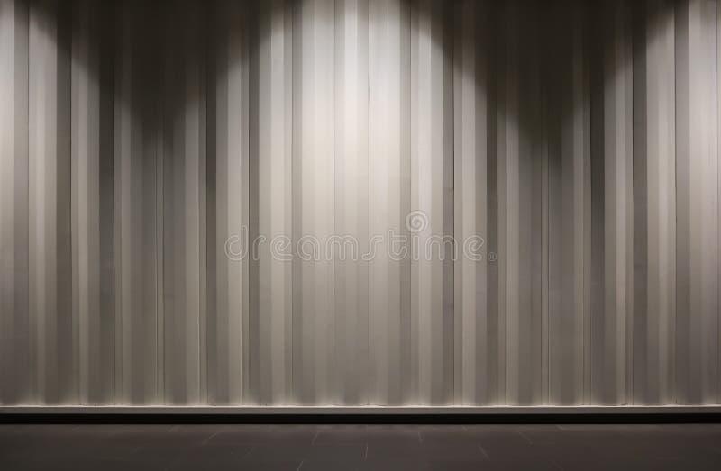 Containermuur met licht ons als achtergrond stock afbeeldingen