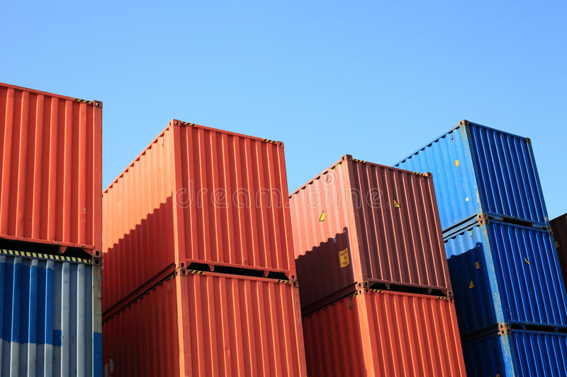 Download Containers stock photo. Image of block, container, harbour - 13772634