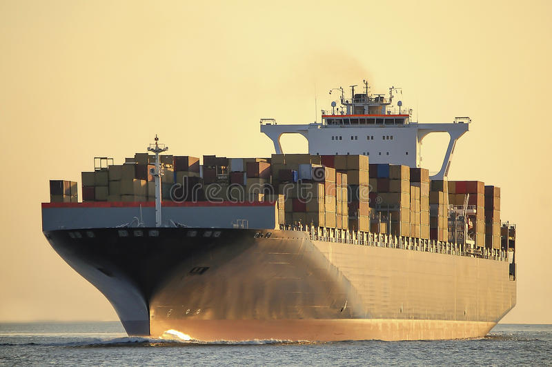 Download Containers stock photo. Image of harbor, nautical, boat - 34856222