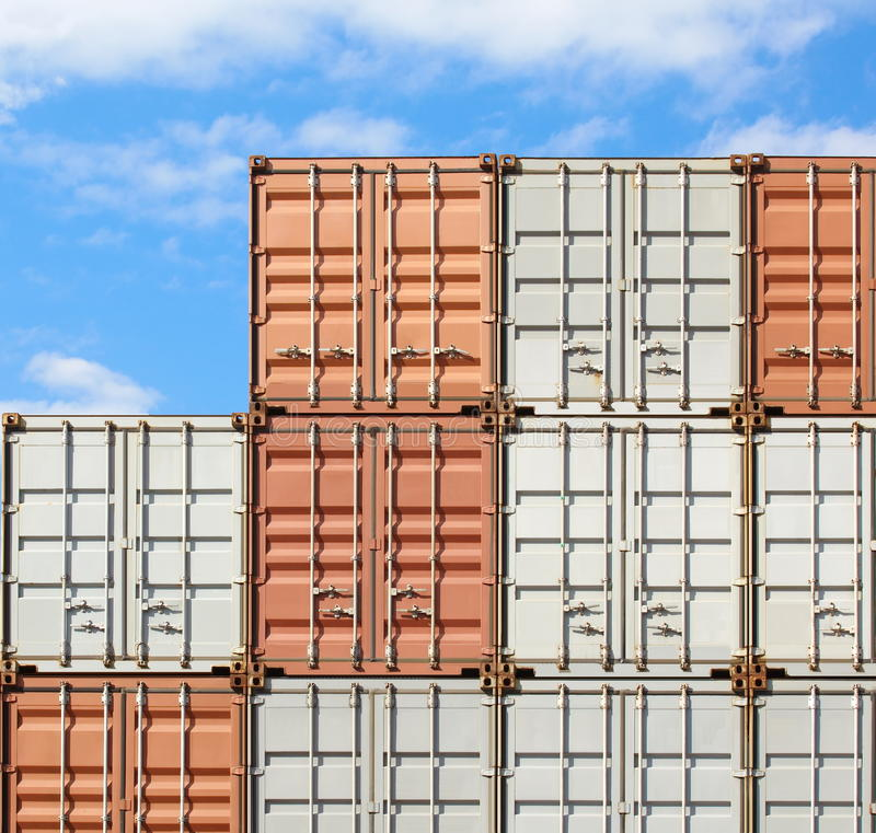 Download Containers shipping stock photo. Image of business, heavy - 32882666