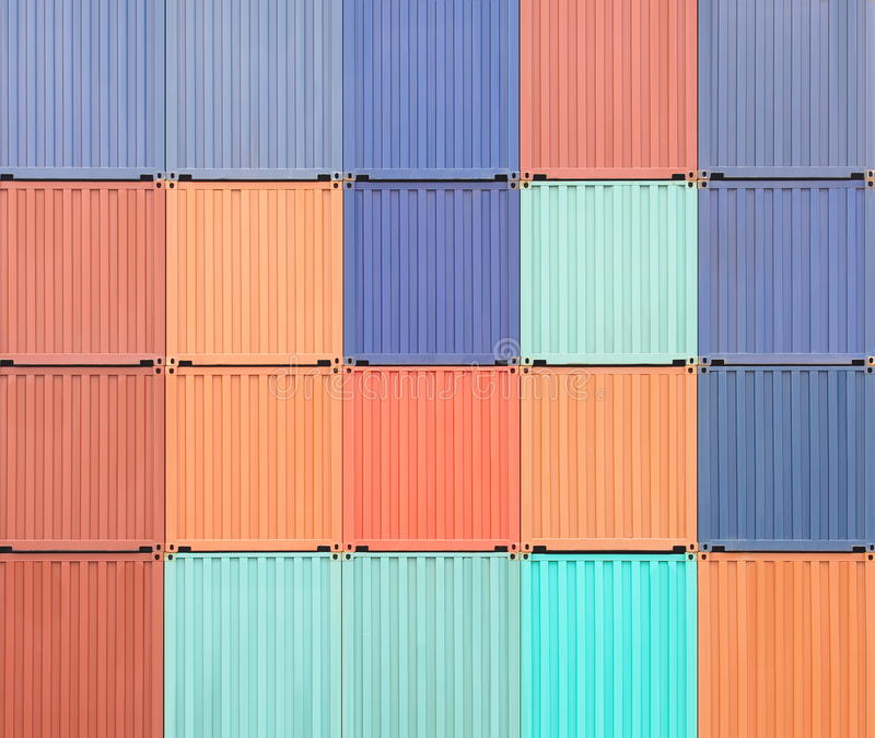 Download Containers shipping stock photo. Image of import, delivery - 32882812
