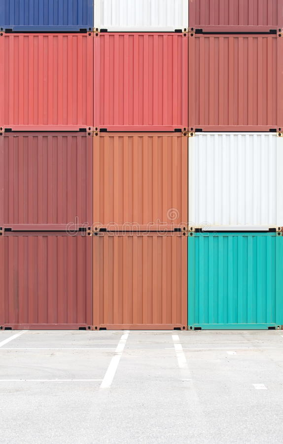 Download Containers shipping stock photo. Image of customs, international - 32883644