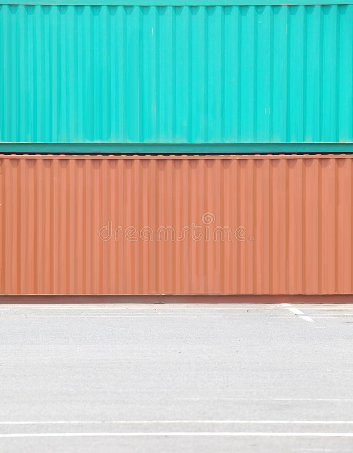 Containers Shipping Stock Photography