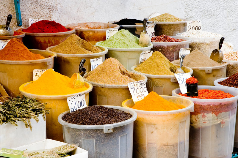 Download Containers Of Spices Stock Photo - Image: 1346770